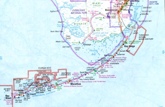 Florida keys tarpon fishing maps fishing for tarpon in the florida keys is rated with the best in the world gumiabroncs Images